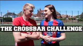 One of Charlotte Allcorn's most viewed videos: CROSSBAR CHALLENGE VS CHARLIE MORLEY