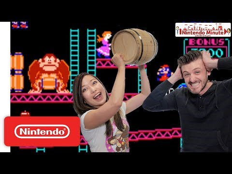 Our First Time Playing Donkey Kong Arcade  - Nintendo Minute