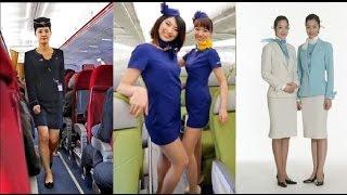挑戰新聞軍事精華版--金大將軍下令,空姐裙子要更緊更短;要空姐穿超短裙,日天馬航空挨轟;走氣質絲巾風的大韓航空空姐