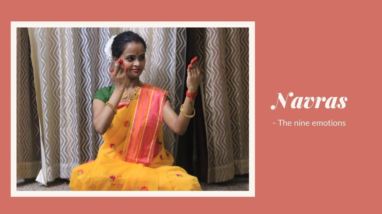 Navras    Nine Emotions    Bharatanatyam    GD Classical