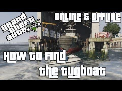 GTA V | How to find the Tugboat [GTA IV Easter Egg]