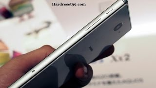 Sharp Aquos Xx2  Hard reset, Factory Reset & Password Recovery