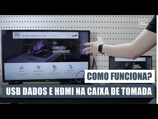 Como funciona o HDMI e USB Dados