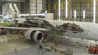 Air New Zealand 777-300 Hobbit Livery - Timelapse #AirNZHobbit