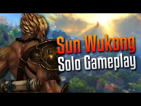 Smite: WENT TOO HARD!- Sun Wukong Solo Gameplay