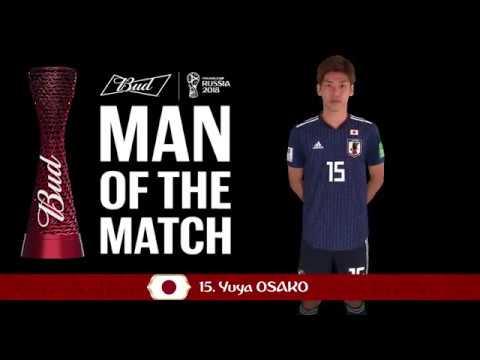 Yuya OSAKO (Japan) - Man of the Match - MATCH 16