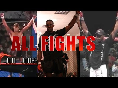 Jon Jones - All Early Fights Full Length