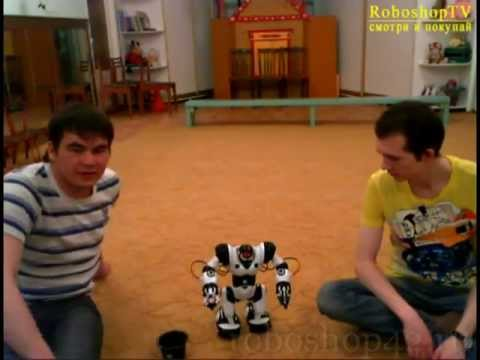 Видео Wowwee robosapien инструкция ацц