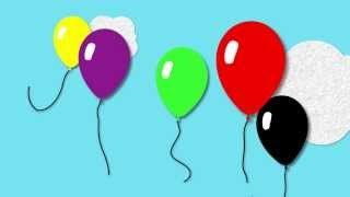 Balloon Colours | Toddler Fun Learning | Learn colours with Balloons