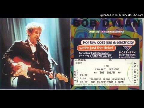 """B. Dylan - """"Duncan And Brady"""" (Telewest Arena, 9/19/00)"""
