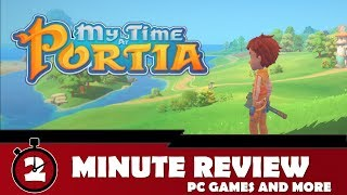 My Time at Portia Review || 2 Minute Review