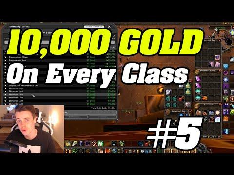 10,000 Gold On EVERY Class | WoW Classic Warlock #5