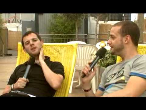 Rock am Ring 2008 - The Streets - Interview Teil 1