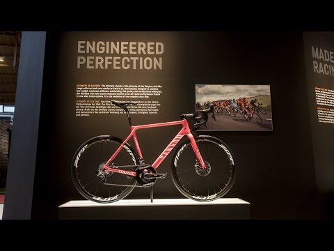 99d4adf97ef Canyon - Eurobike 2016 - Disc Road Bikes - YouTube