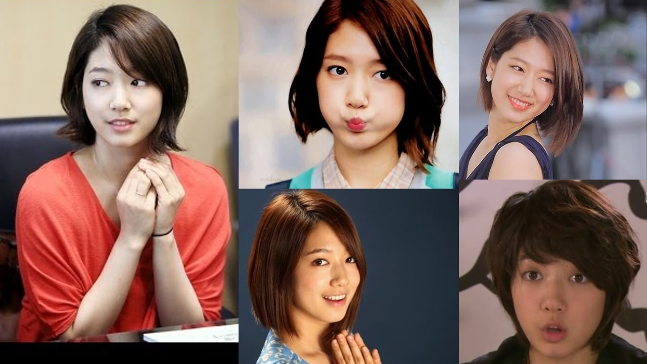 Park Shin Hye S Impressed With Short Hairstyles Youtube