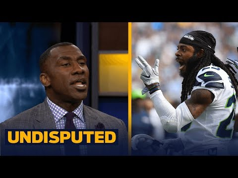 Richard Sherman defends late hit on Marcus Mariota - is that a problem? | UNDISPUTED