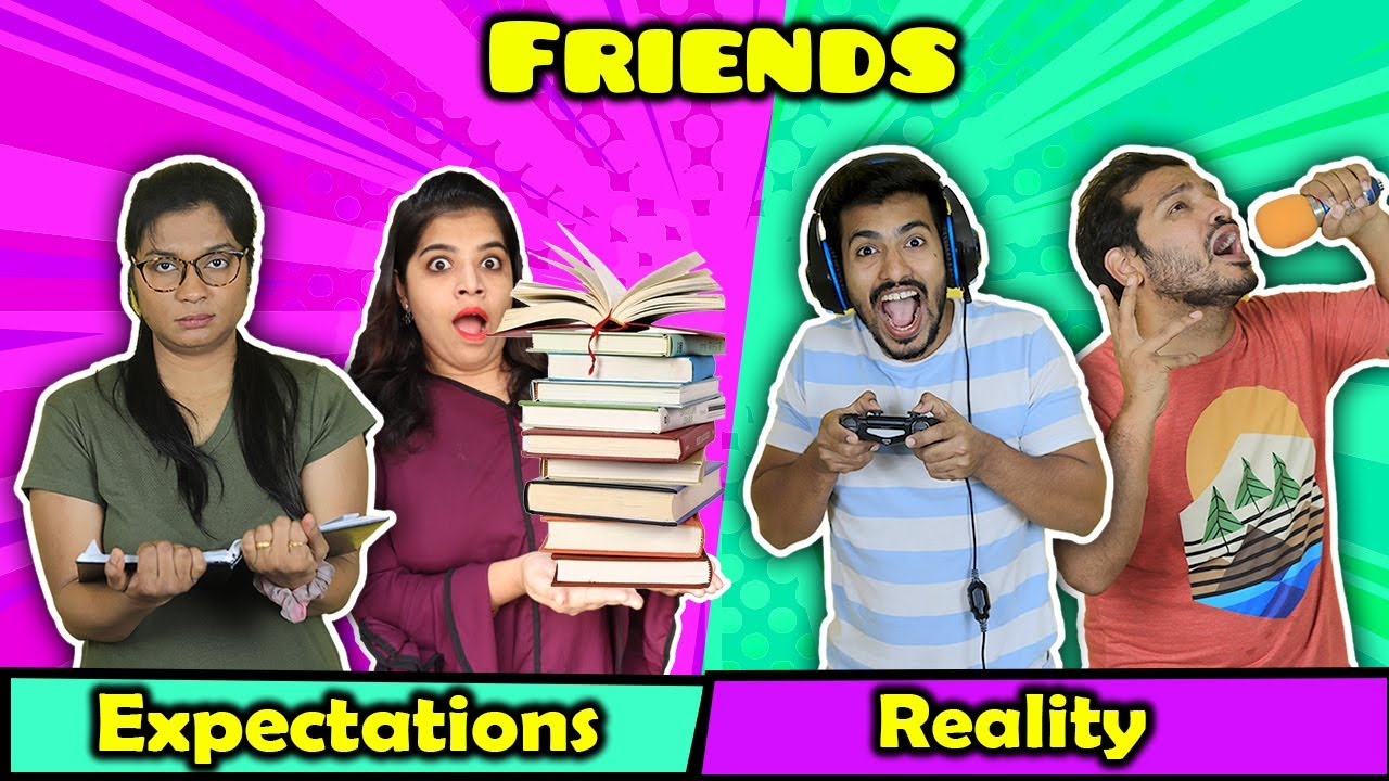 Download Friends : Expectation Vs Reality  | Funny Video | Hungry Birds