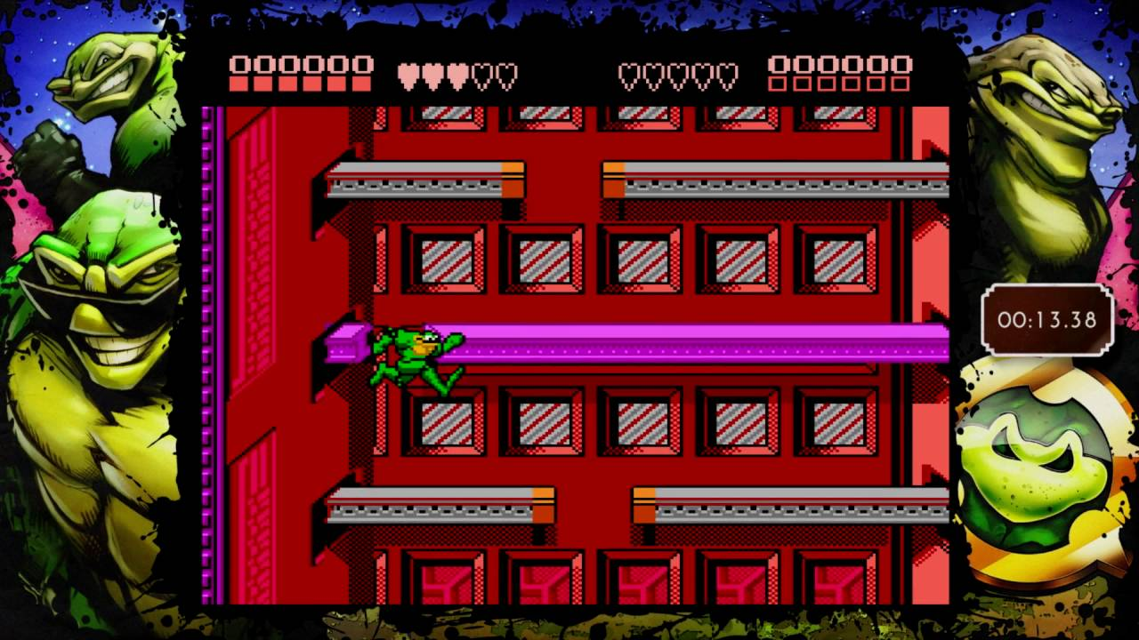 Rat Race Rush 2144 Rare Replay Snapshot Battletoads Nes Youtube