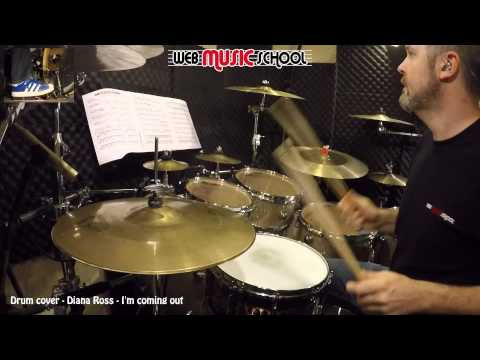 Diana Ross - I'm coming out - DRUM COVER
