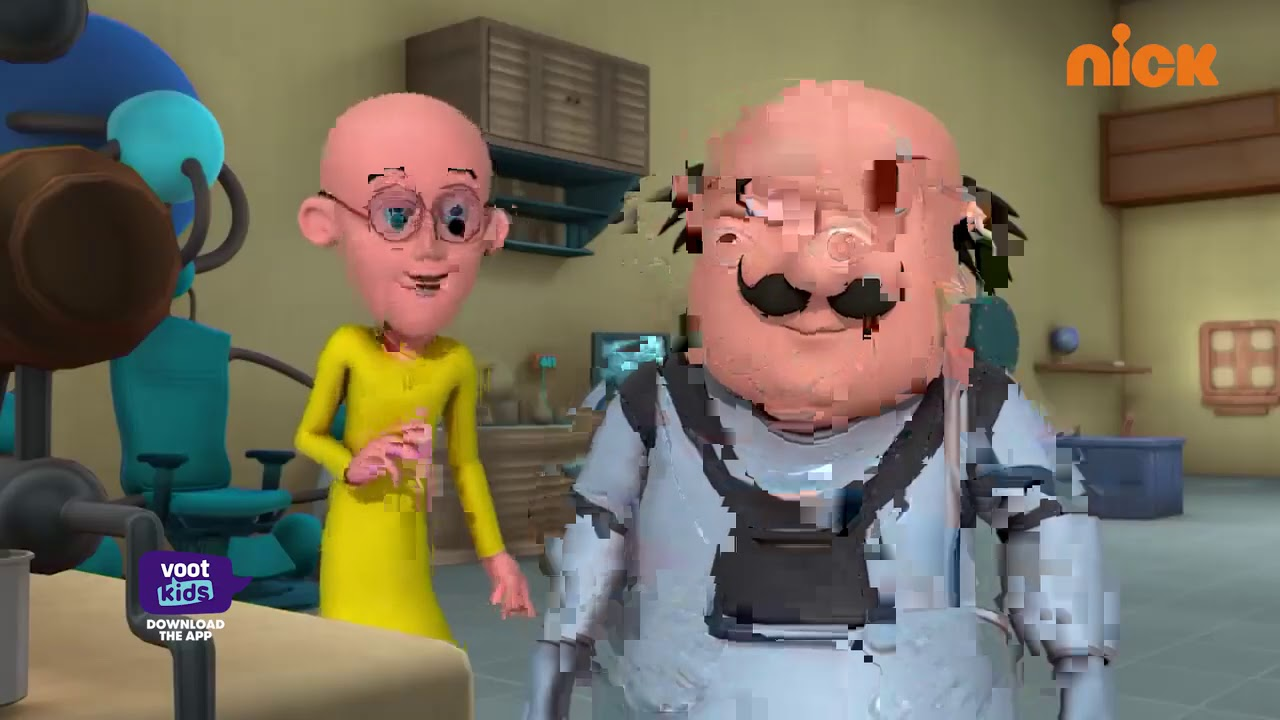 Motu Patlu | मोटू पतलू S5 | Glass Man Alien | Episode 178 Part 2 | Voor Kids