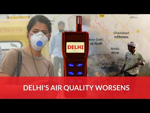 Delhi's Air Quality Improves As Wind Speed Disperse Pollutants
