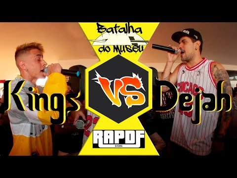 Kings vs Dejah - Batalha de RAP Museu - Edição MOnstros do Museu 1 fase