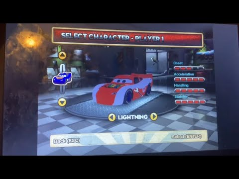 Super Mario McQueen Mario Kart Cars Superdrive