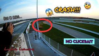 124 Abarth Drift Crash | Autodromo del Levante