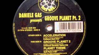 Daniele Gas - Groove Planet