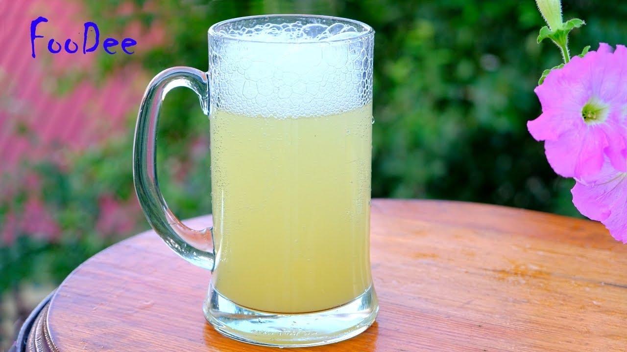 Секреты насыщенного ЛИМОНАДА - МИНИМУМ сахара! Рецепт лимонада в домашних условиях
