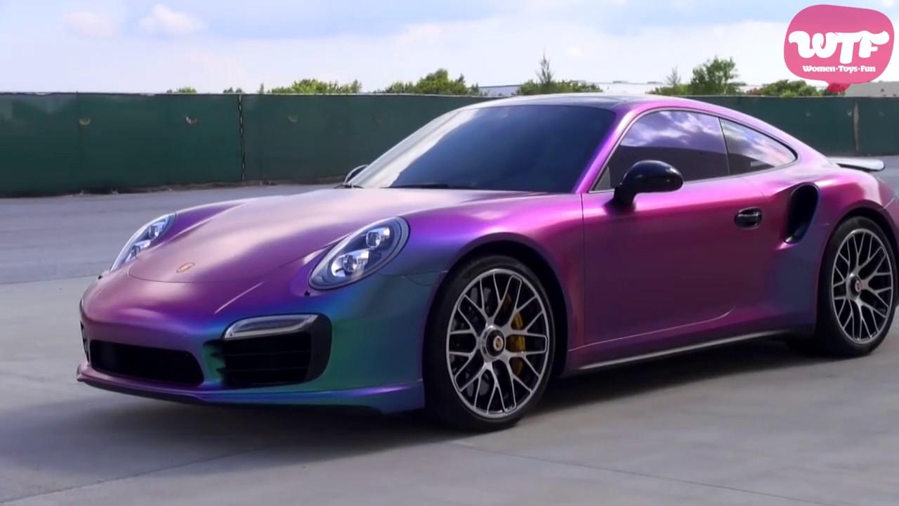 Autos Fantasticos Que Cambian De Color Youtube