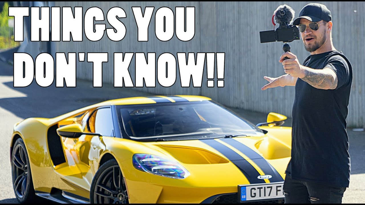 Facts You Need To Know About The New Ford Gt