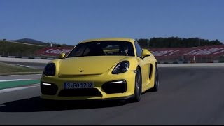 Behind the wheel of the Cayman GT4 with Walter Röhrl