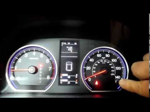 How to reset the oil life on a 2008 Honda CRV - YouTube