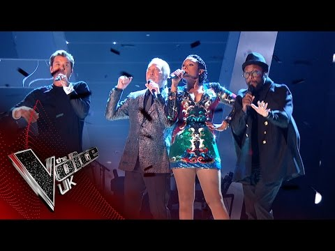 The Coaches perform 'Under Pressure' | The Voice UK 2017