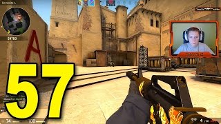 CS:GO - Part 57 - Need Mid Control on Mirage (CounterStrike Full Game)