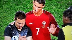 CRISTIANO RONALDO TAKES SELFIE WITH A FAN! #MANOFHONOR