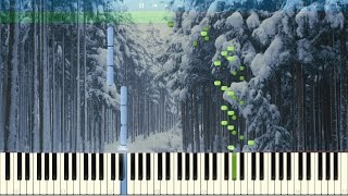 A.Vivaldi - The Four Seasons - Winter - II.Largo. Piano (Synthesia)