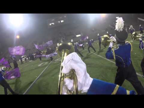 Acton Boxborough Marching Band Solo Trumpet Cam 2014