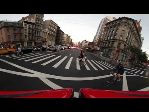 360i bicycle commute in 360°