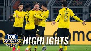 Borussia Dortmund Vs. Eintracht Frankfurt | 2020 Bundesliga Highlights