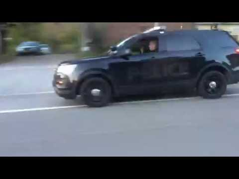 Le Roy Police Stealth 2016 Ford Explorer Traffic Stop
