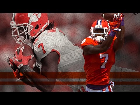 Clemson WR Mike Williams made it back from a broken neck to dominate college football