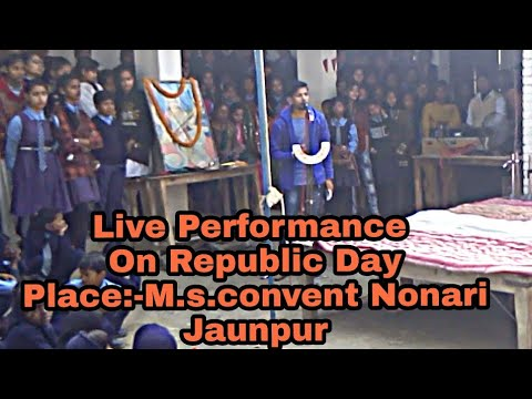 Live Performance On Republic Day 26 jan. | SANDESE AATE HAIN.......Hemant Upadhyay