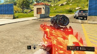 TESTING OUT THE GRAV w/ 4X & SUPPRESSOR   Black Ops 4 Blackout
