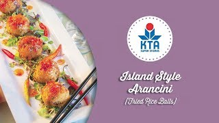 Island Style Arancini (fried Rice Balls) By Chef Amy