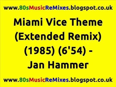 Miami Vice Theme (Extended Remix) - Jan Hammer | Francois Kevorkian | 80s Club Mixes | 80s Club Hits