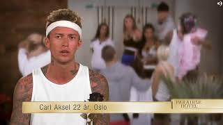 Carl Aksel ryker ut av Paradise Hotel (2018)