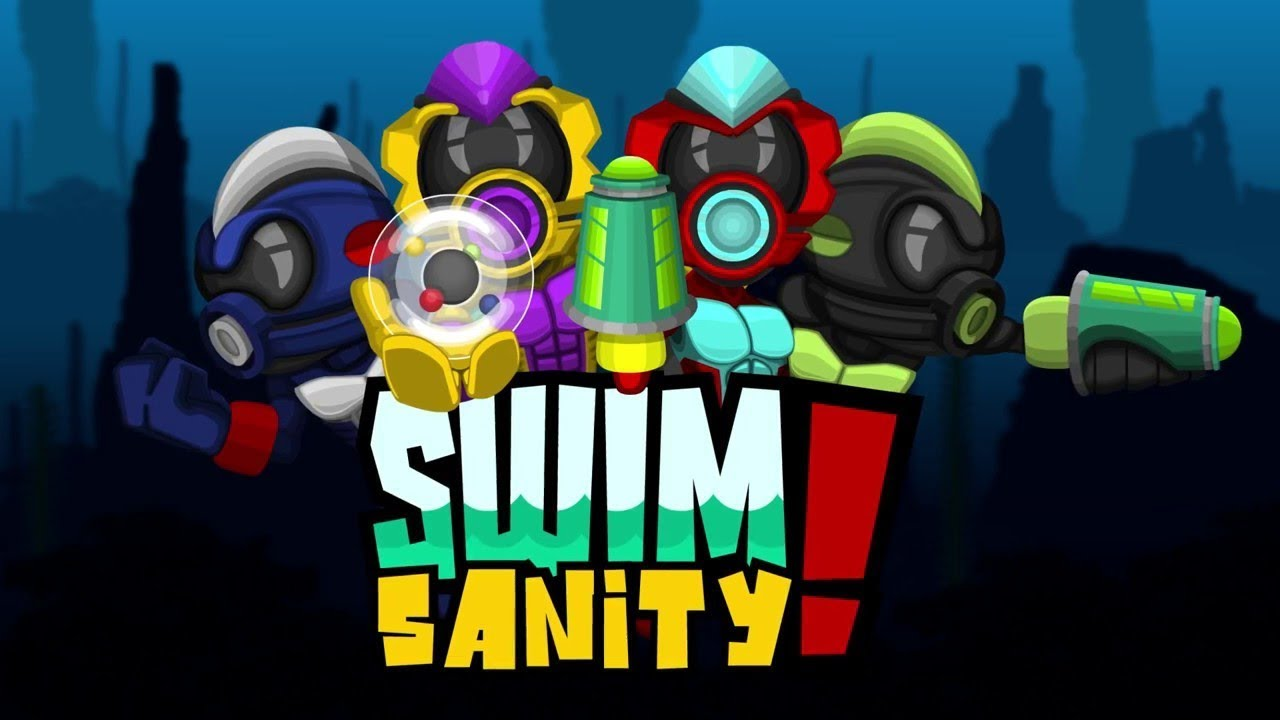 Swimsanity! Co-Op Gameplay (PC, PS4, Xbox One, Switch) - YouTube