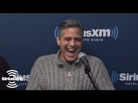 George Clooney: Matt Damon Needs To Step Up His Game // SiriusXM // Town Hall FEB 2014